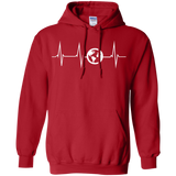 Heartbeat Pullover Hoodie - The Art Of Travel Store: Travel Accessories, Travel Clothes, Travel Gear