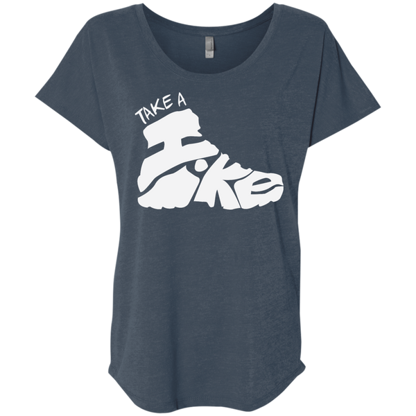 Take a Hike Women's Travel T-Shirt - The Art Of Travel Store: Travel Accessories and Travel T-Shirts