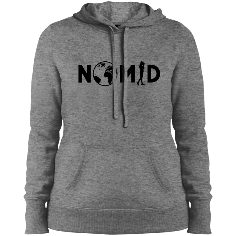 NOMAD Ladies Hooded Pullover - The Art Of Travel Store: Travel Accessories and Travel T-Shirts