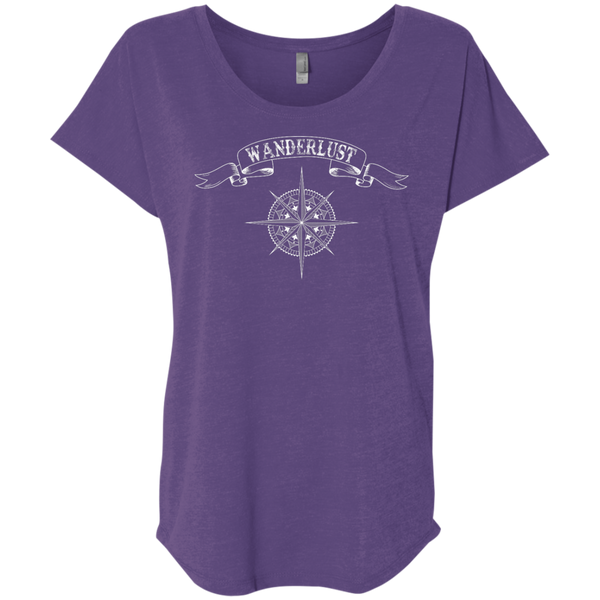 Wanderlust Women's Travel T-Shirt - The Art Of Travel
