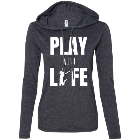 Ladies' T-Shirt Hoodie - The Art Of Travel Store: Travel Accessories, Travel Clothes, Travel Gear