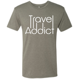 Travel Addict Men's Adventure Wanderlust T-Shirt - The Art Of Travel Store: Travel Accessories, Travel Clothes, Travel Gear