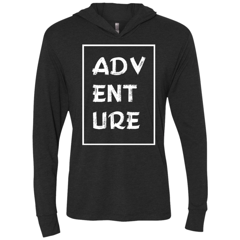 Adventure Time Long Sleeve Hooded T-Shirt Hoodie - The Art Of Travel Store: Travel Accessories and Travel T-Shirts