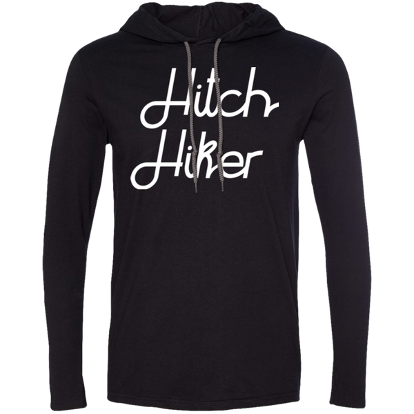 Hitchhiker Men's Traveler T-Shirt Hoodie - The Art Of Travel Store: Travel Accessories and Travel T-Shirts