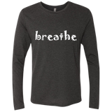 Breathe Life Peace Men's Long Sleeve Travel T-Shirt - The Art Of Travel Store: Travel Accessories, Travel Clothes, Travel Gear