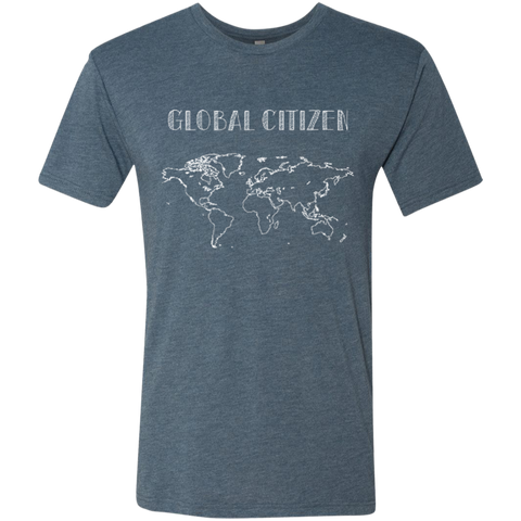 Global Citizen Men's Travel T-Shirt - The Art Of Travel Store: Travel Accessories, Travel Clothes, Travel Gear