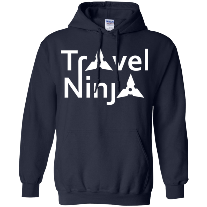 Travel Ninja Pullover Hoodie - The Art Of Travel Store: Travel Accessories and Travel T-Shirts