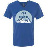 The Art of Travel Men's V-Neck T-Shirt - The Art Of Travel Store: Travel Accessories, Travel Clothes, Travel Gear