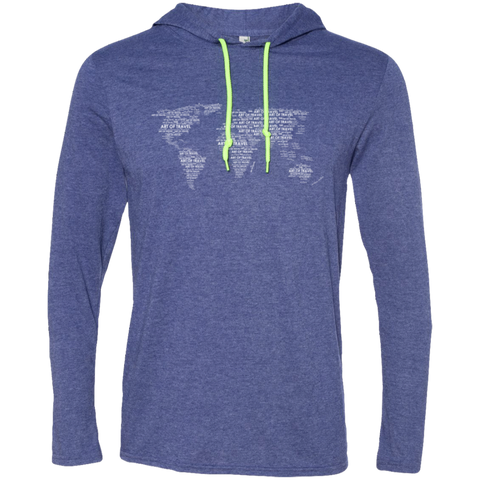 Art of World Travel Men's T-Shirt Hoodie - The Art Of Travel Store: Travel Accessories, Travel Clothes, Travel Gear