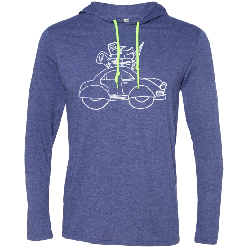 Roadtripper Road Trip Travel T-Shirt Hoodie - The Art Of Travel Store: Travel Accessories and Travel T-Shirts
