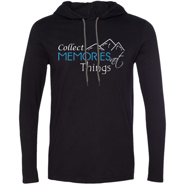 Collect Memories Not Things Men's Travel T-Shirt Hoodie - The Art Of Travel Store: Travel Accessories, Travel Clothes, Travel T-Shirts