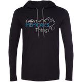 Collect Memories Not Things Men's Travel T-Shirt Hoodie - The Art Of Travel Store: Travel Accessories, Travel Clothes, Travel Gear