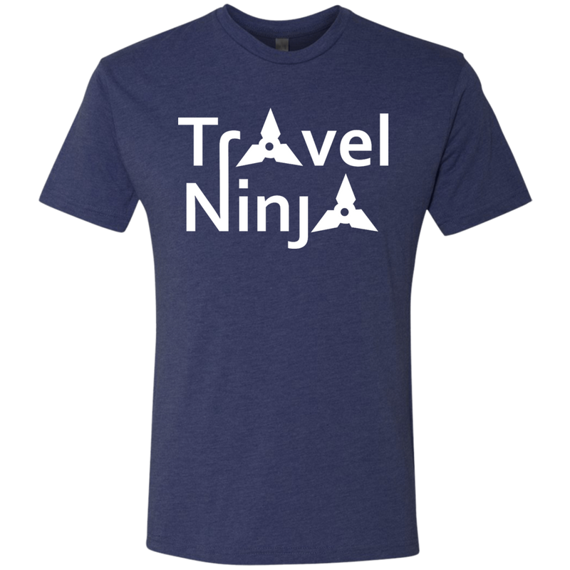 Travel Ninja Men's Wanderer T-Shirt - The Art Of Travel Store: Travel Accessories and Travel T-Shirts