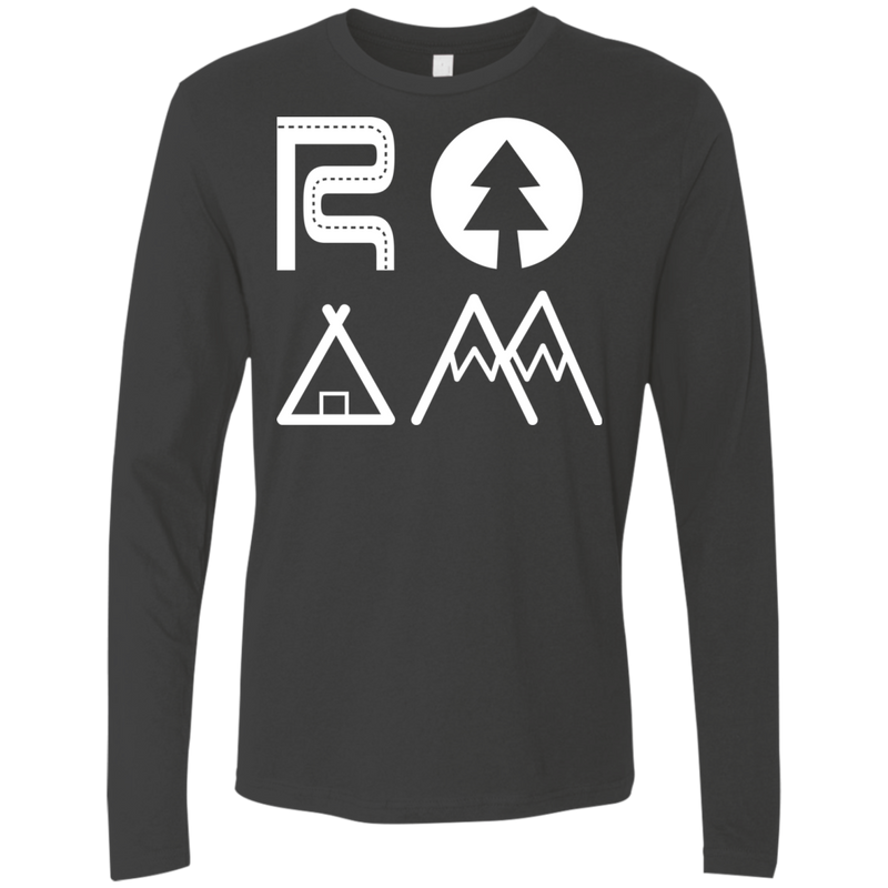 ROAM Nomad Men's Long Sleeve T-Shirt - The Art Of Travel Store: Travel Accessories and Travel T-Shirts