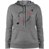 Heart of Travel Ladies Pullover Hooded Sweatshirt - The Art Of Travel Store: Travel Accessories, Travel Clothes, Travel Gear