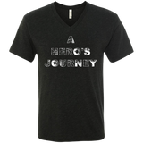 Hero's Journey Men's Travel V-Neck Tee - The Art Of Travel Store: Travel Accessories, Travel Clothes, Travel Gear