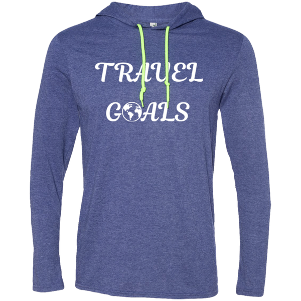 Travel Goals Men's T-Shirt Hoodie - The Art Of Travel Store: Travel Accessories, Travel Clothes, Travel T-Shirts