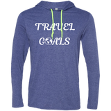 Travel Goals Men's T-Shirt Hoodie - The Art Of Travel Store: Travel Accessories, Travel Clothes, Travel Gear
