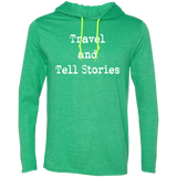 Travel & Tell Stories Men's T-Shirt Hoodie - The Art Of Travel Store: Travel Accessories, Travel Clothes, Travel Gear
