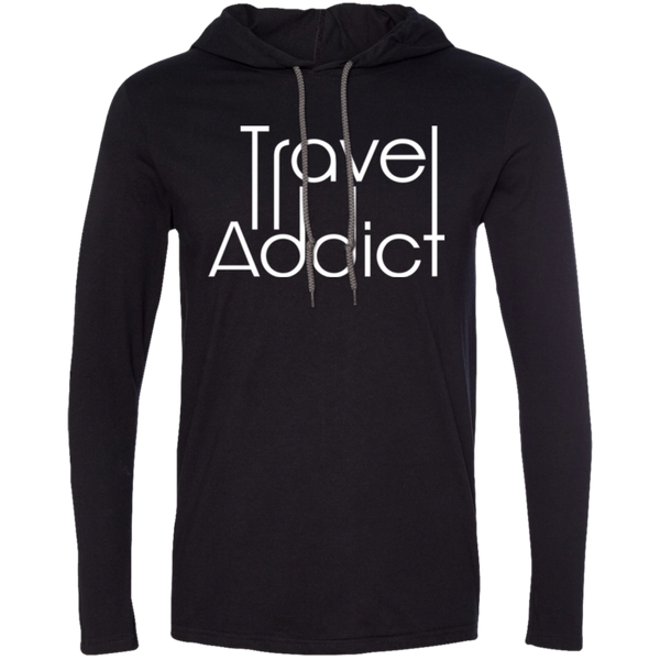 Men's LS T-Shirt Hoodie - The Art Of Travel Store: Travel Accessories, Travel Clothes, Travel T-Shirts