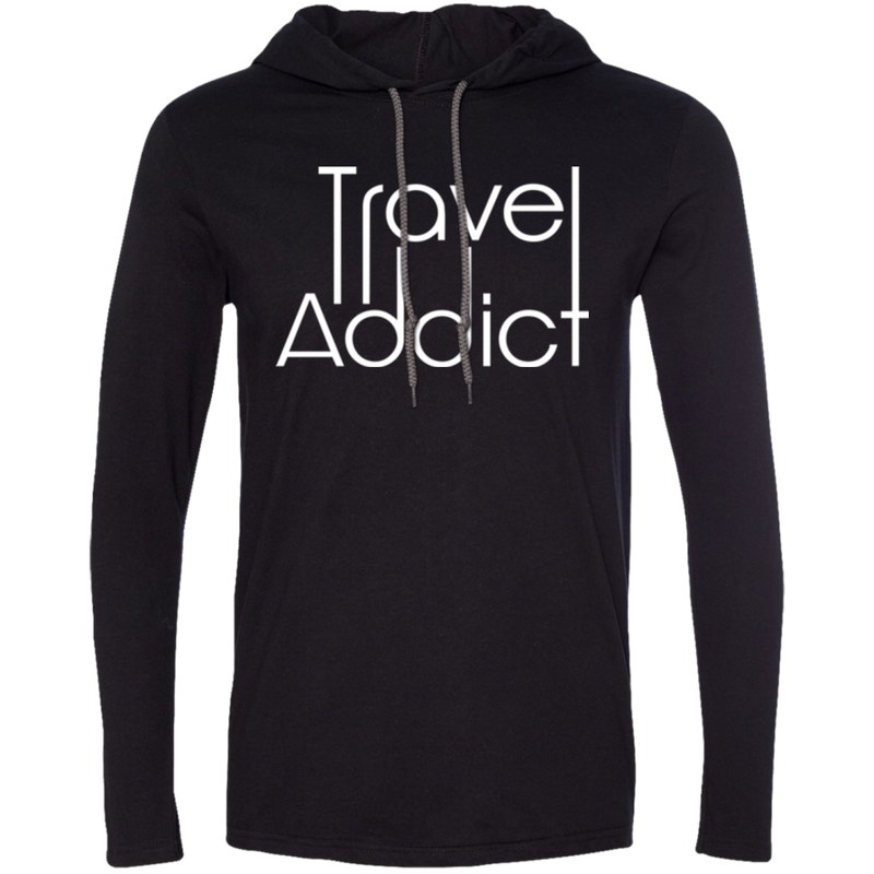 Men's LS T-Shirt Hoodie - The Art Of Travel Store: Travel Accessories and Travel T-Shirts