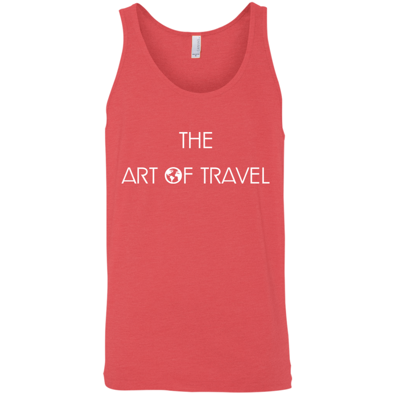 The Art of Travel Men's Tank - The Art Of Travel Store: Travel Accessories and Travel T-Shirts