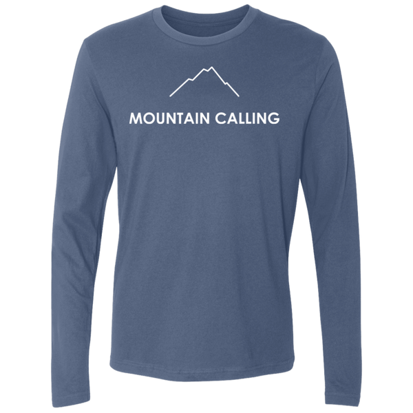 Mountain Calling Men's Long Sleeve Travel Hiking T-Shirt