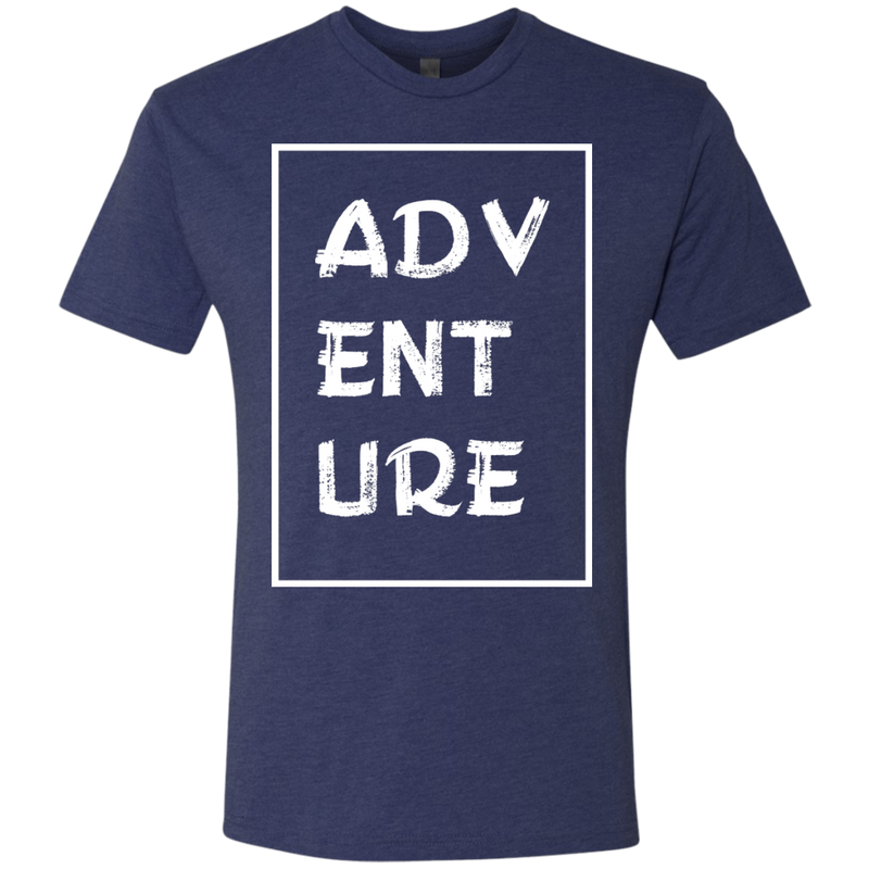 Adventure Wander Men's Travel T-Shirt - The Art Of Travel Store: Travel Accessories and Travel T-Shirts