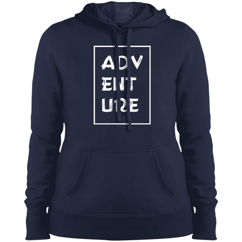 Adventure Travel Women's Hooded Pullover Sweatshirt - The Art Of Travel Store: Travel Accessories and Travel T-Shirts