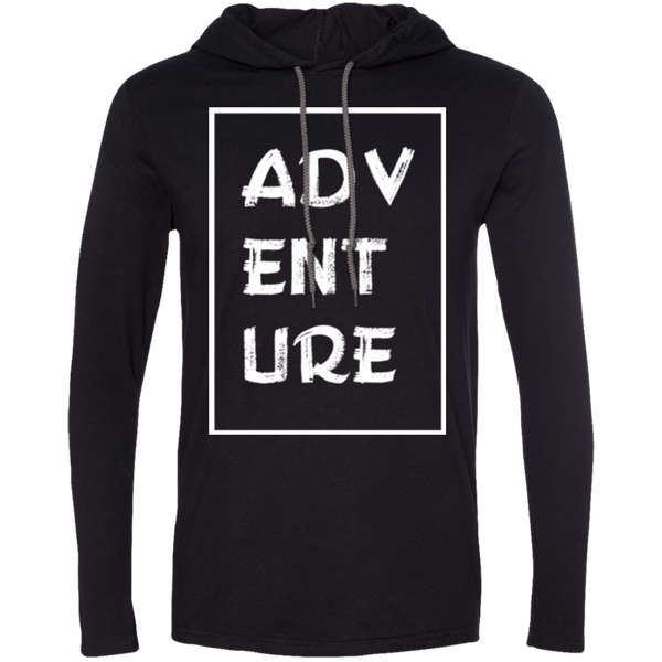 Adventure Travel Men's T-Shirt Hoodie - The Art Of Travel Store: Travel Accessories and Travel T-Shirts