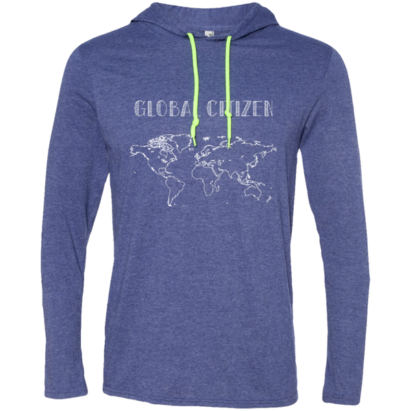 Global Citizen Mens T-Shirt Hoodie - The Art Of Travel