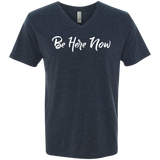 Be Here Now Men's Travel V-Neck T-Shirt - The Art Of Travel Store: Travel Accessories, Travel Clothes, Travel Gear