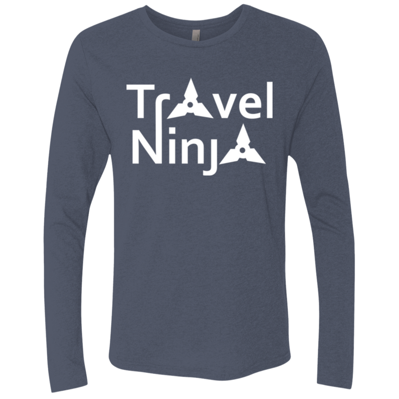 Travel Ninja Men's Long Sleeve T-Shirt - The Art Of Travel Store: Travel Accessories and Travel T-Shirts