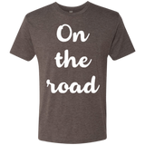 On the Road Men's Travel T-Shirt - The Art Of Travel Store: Travel Accessories, Travel Clothes, Travel Gear