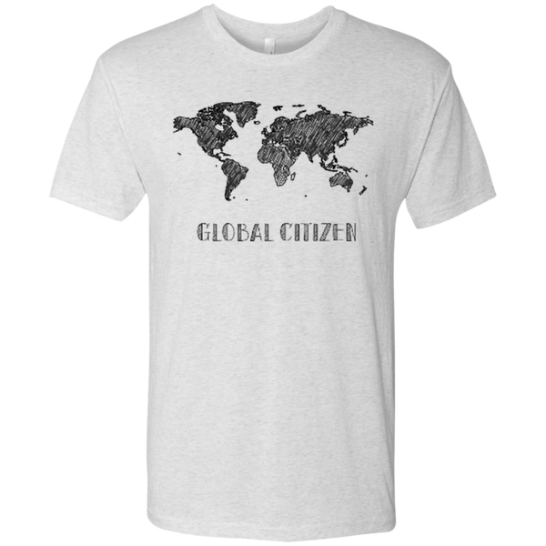I Am A Global Citizen Men's Travel T-Shirt - The Art Of Travel
