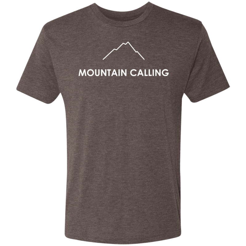 Mountain Calling Men's Triblend T-Shirt - The Art Of Travel Store: Travel Accessories and Travel T-Shirts