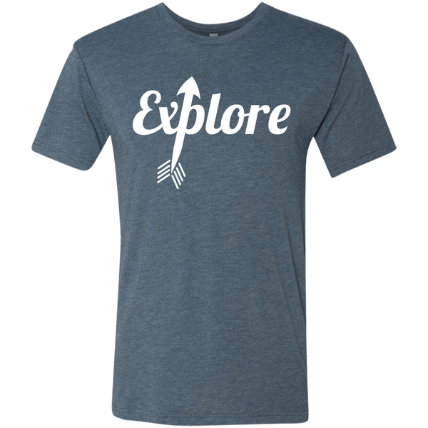 Explore Travel Discover Men's T-Shirt - The Art Of Travel Store: Travel Accessories and Travel T-Shirts