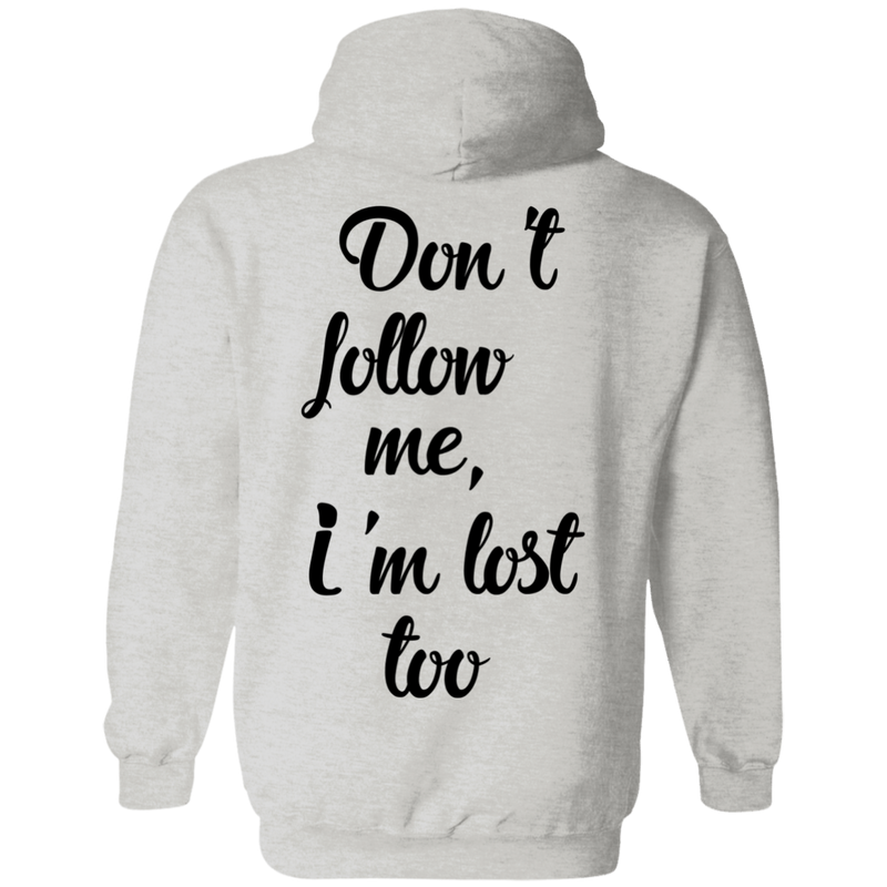 Don't Follow Me Men's Travel Pullover Hoodie - The Art Of Travel