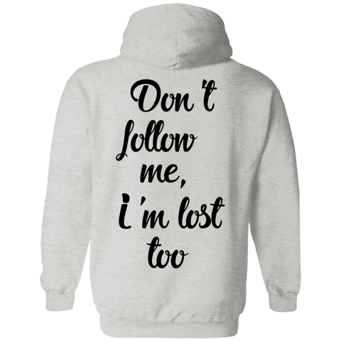 Don't Follow Me Men's Travel Pullover Hoodie - The Art Of Travel Store: Travel Accessories, Travel Clothes, Travel Gear