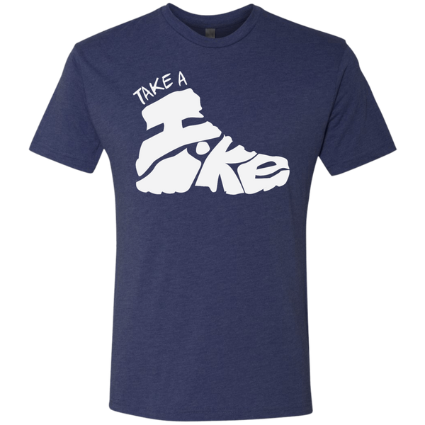 Take A Hike Men's Travel Hiking T-Shirt - The Art Of Travel