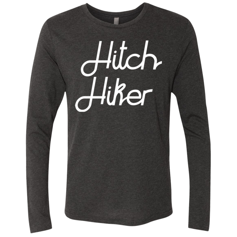 Hitchhiker Men's Long Sleeve Travel T-Shirt - The Art Of Travel Store: Travel Accessories and Travel T-Shirts