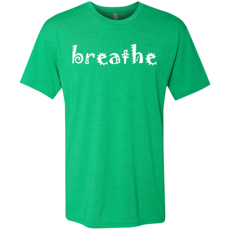 Breathe Relax Wander Men's Travel T-Shirt - The Art Of Travel Store: Travel Accessories and Travel T-Shirts