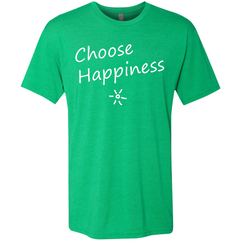 Choose Happiness Men's Travel T-Shirt - The Art Of Travel