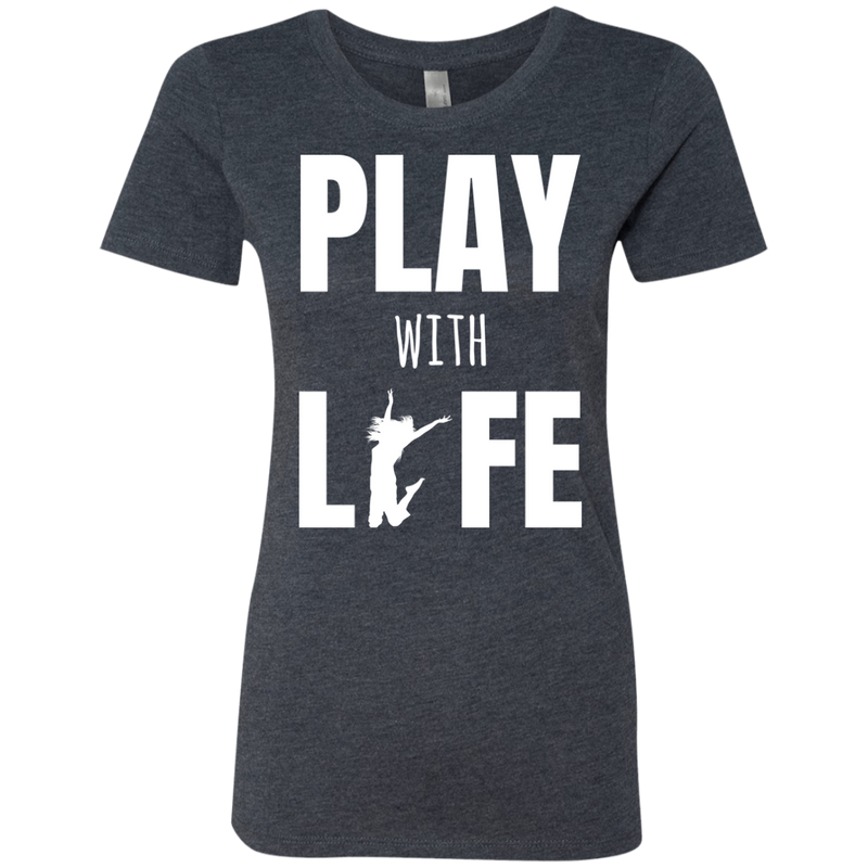 Play with Life Women's Travel T-Shirt - The Art Of Travel
