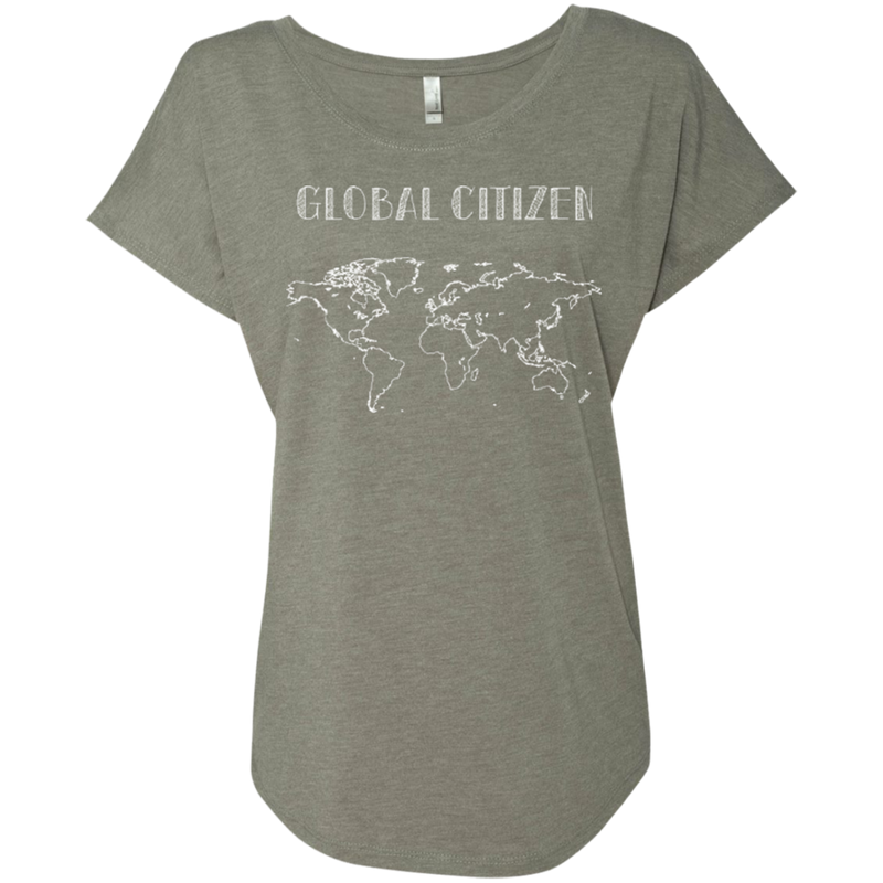 Global Citizen Ladies World Travel T-Shirt - The Art Of Travel Store: Travel Accessories and Travel T-Shirts