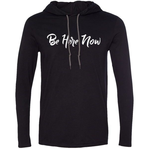 Be Here Now Men's Travel T-Shirt Hoodie - The Art Of Travel Store: Travel Accessories, Travel Clothes, Travel T-Shirts