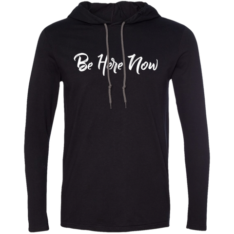 Be Here Now Men's Travel T-Shirt Hoodie - The Art Of Travel Store: Travel Accessories, Travel Clothes, Travel Gear
