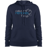 Collect Memories Not Things Hooded Sweatshirt - The Art Of Travel Store: Travel Accessories, Travel Clothes, Travel Gear