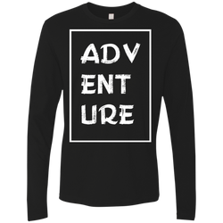 Adventure Travel Men's Long Sleeve T-Shirt - The Art Of Travel Store: Travel Accessories and Travel T-Shirts