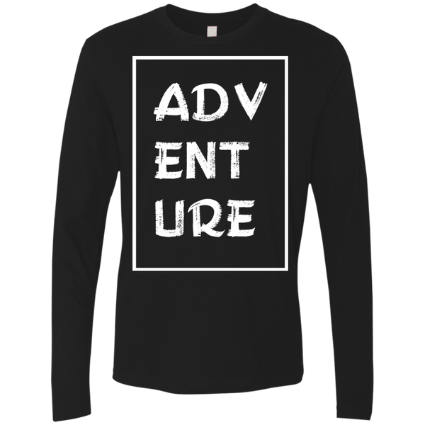 Adventure Travel Men's Long Sleeve T-Shirt - The Art Of Travel
